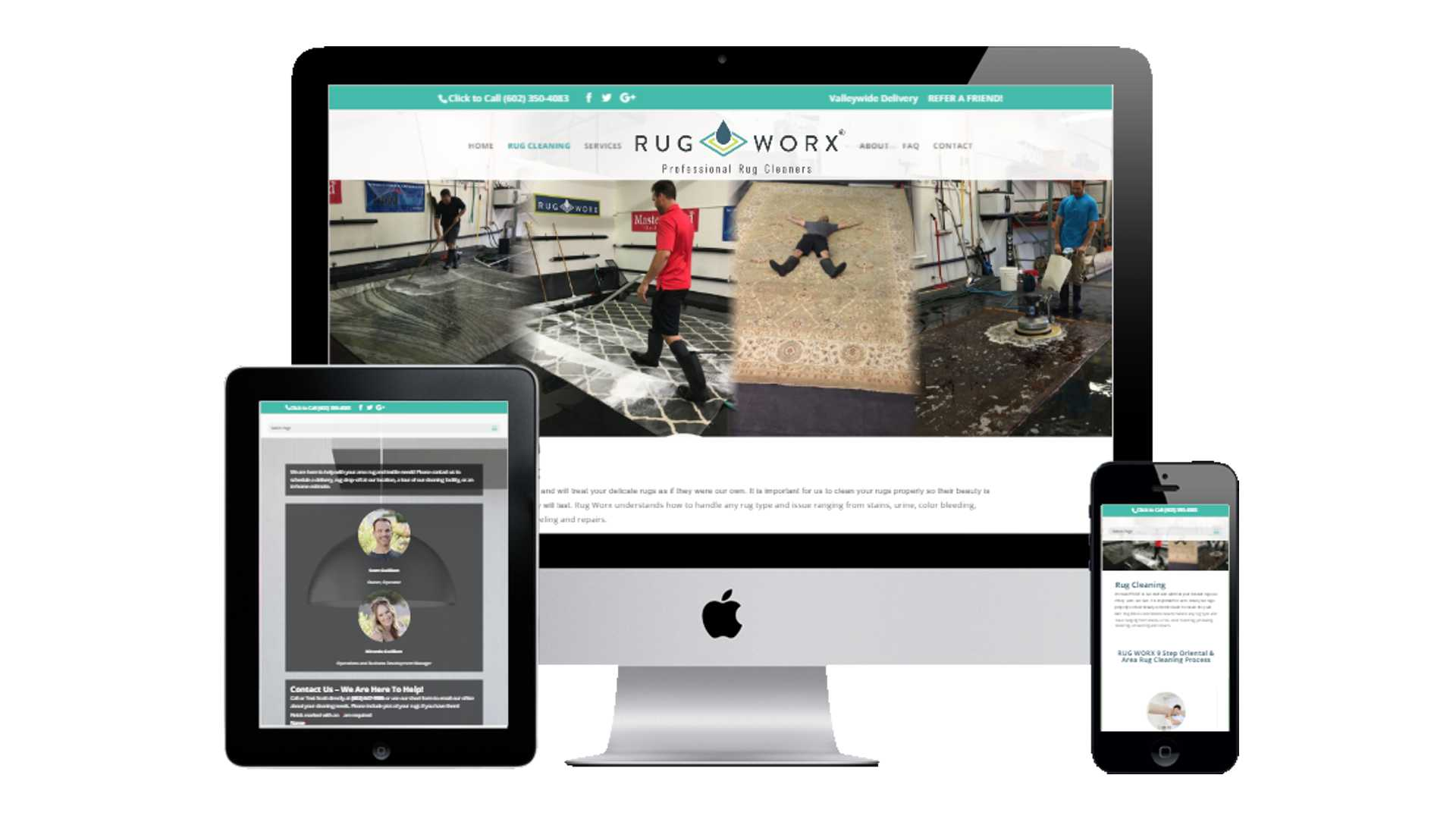 Rug Worx® Responsive Website