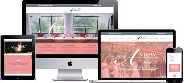 A View Venues Website