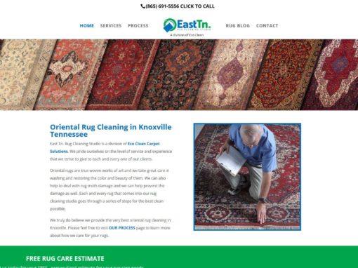 East Tn. Rug Cleaning Studio